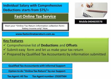 Online Tax Return by Our Support