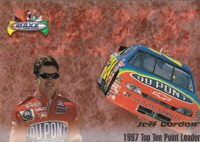 Nascar Jeff Gordon 1998 Ud  Point Leader  Insert Racing Card  P01