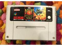 Desert Strike Return to the Gulf Super Nintendo