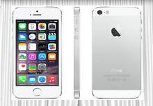 APPLE IPHONE 5S 16GB USED SILVER WHITE , AMAZING CONDITION Strathfield Strathfield Area Preview