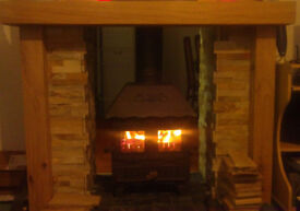 Black Aarrow multifuel stove