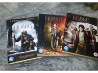 Hobbit trilogy dvds