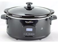 Michael James Premium Slow Cooker 5.5 Litre