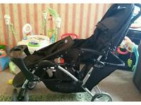 Graco double buggy excellent condition