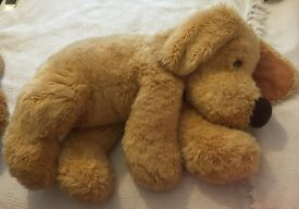 Vintage Beautiful big john lewis soft cuddly dog 31 inches