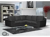 BRAND NEW AMY FAUX LEATHER CORNER SOFA AVAILABLE IN BLACK, BROWN OR CREAM !!!