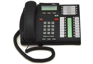 Nortel T7316E Multi-Line Business Phone - 24 Programmable Buttons - NT8B27JANAE6 - Used/Tested & Working