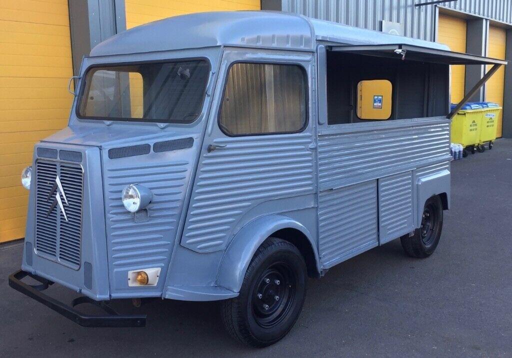 f317e15e1e62f8 Citroen HY H Van - Vintage food truck   Catering van   Coffee bar   Camper