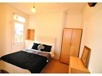 Fully furnished double room in a friendly houseshare available now