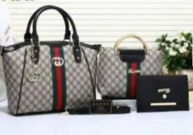 3 piece ladies bag set