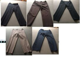 Joblot of M&S and one Bon Marche trousers size 14 and 16