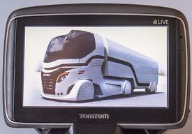Tomtom Go Live GPS Receiver with Europe Truck maps
