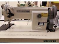 Zoje Diamond ZJ 0628 Industrial Walking Foot Upholstery Leather Sewing Machine NEW