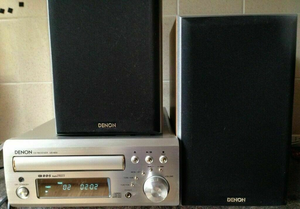 Denon UD-M30 Receiver Amplifier Tuner CD Player Hi-Fi Stereo amp + Mission  SC-M5K 2 Way speakers | in Kennington, London | Gumtree