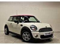 MINI HATCH ONE 1.6 ONE 3d 98 BHP + 2 PREV OWNER + SERVICE HISTORY (white) 2011