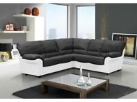 ** SPECIAL EDITION CANDY SOFAS ** FREE UK DELIVERY ** MIXED COLOUR LEATHER CORNER SOFAS, SOFA SETS**