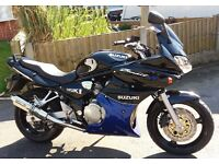 SUZUKI BANDIT 600s 2004 Very Low Miles Exceptional Bike