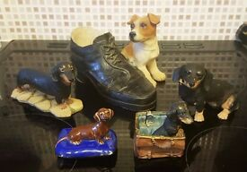 Job Lot - Assorted Dog Small Ornaments - £3 for All