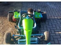 Twin engine Honda Pro kart..ready to drive..very fast