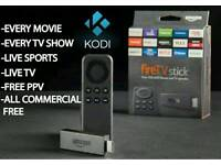 Amazone fire stick with kodi 16.1 and spinz build