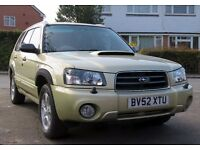 Subaru Forester 2.0 XT (Turbo) AWD – 2003 manual