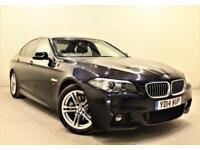 BMW 5 SERIES 2.0 520D M SPORT 4d AUTO 181 BHP (black) 2014