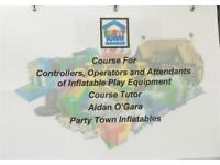 INFLATABLE OPERATORS TRAINING COURSE