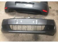 Pair of Mk6 Golf bumpers front and rear 2009-2013 models