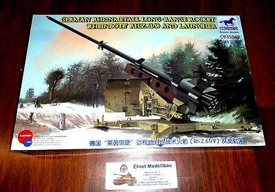 WWII german Missile Rakete Rheinmetall Rheinbote RH.Z.61/9   1:35 Bronco CB35048