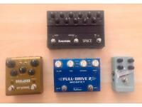 Effects pedal clear-out (Strymon, Eventide, Fulltone, Catalinbread.)