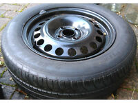 New 4-stud steel wheel with 195/60/15 tyre Suit Ford Focus Mk1, Chevrolet lacetti + others
