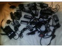 10 X Laptop Chargers,£10 Each,Or £85 for the Lot.