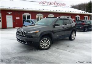 2015 Jeep Cherokee, Active Drive II Limited 4x4