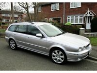 Jaguar X-Type SE Estate 2.0 Ltr Diesel (2004). Platinum Silver. Nice all-round condition.