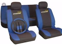 Car Seat Cover Set Brookstone RRP £30 **NEW & PACKAGED