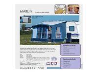 2011 Isabella Ventura Marlin Porch Awning - Blue/Grey