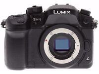 Panasonic GH4 4K DSLR Camera Faulty / Spares
