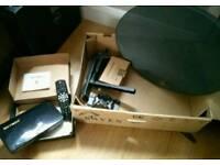 Mobile Satellite Setup, Dish, Box etc
