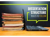Dissertation/Thesis/Help/Tutor - PhD/Proposal/Proofreading/Editing/Service/Writing/Manchester