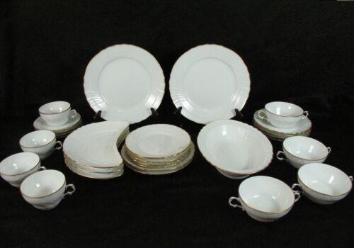RICHARD GINORI San Remo Dinnerware Set 28 Pc Salad Luncheon Cream Soup Cups Etc