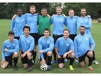 11 ASIDE TEAM, WE ARE RECRUITING, FIND FOOTBALL IN LONDON, JOIN SUNDAY FOOTBALL TEAM, PLAY fg56