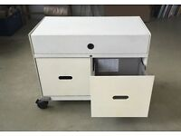 Vitra Caddy small mobile filing cabinet, used condition