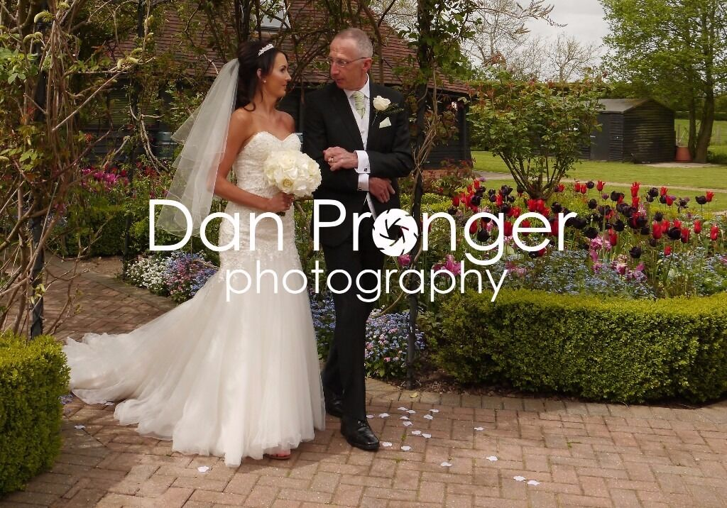 All day wedding photography £850