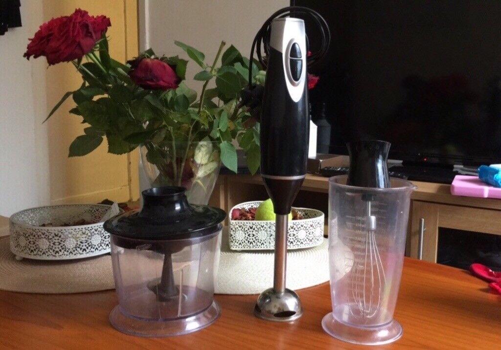 3 in 1 food processor/blender/mixer