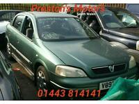 Breaking For Spares Vauxhall Astra 1.4 16v