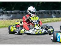 Honda T2-SP. GX160cc (X2)-Twin engine Petrol go kart (Wright kart)