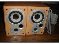 Mission Denon sc-m101 speakers