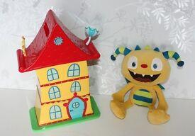 Henry Hugglemonster Huggle House Playset and Talking Henry Soft Toy
