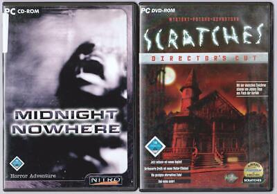 Midnight Nowhere Horror Adventure + Scratches Director's Cut Sammlung PC Spiele