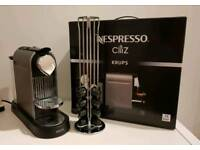 Nespresso Citiz Titanium Coffee Machine